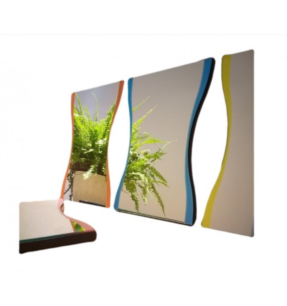 Bric Wall Mirror Collection by Karim Rashid