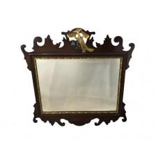 Georgian style Gilded Fret Mirror