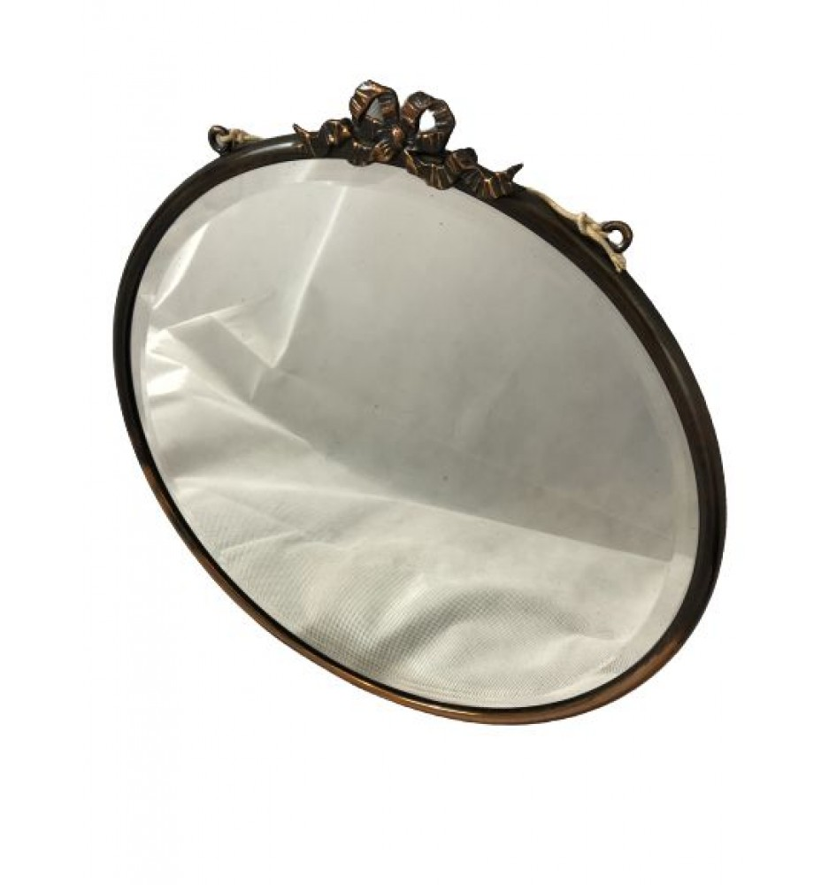 Vintage Copper Mirror