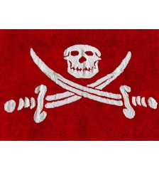 Bandera Pirata (Pirate Flag) Rug