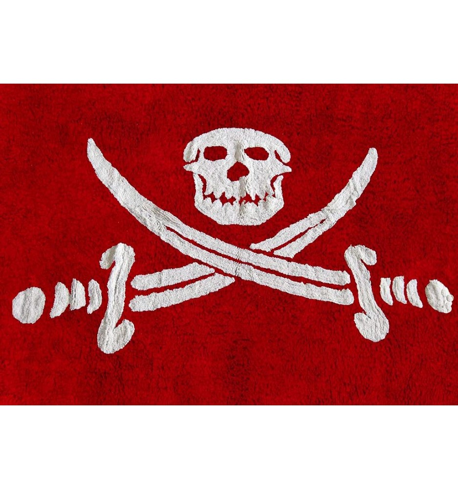 Bandera Pirata (Pirate Flag) Rug
