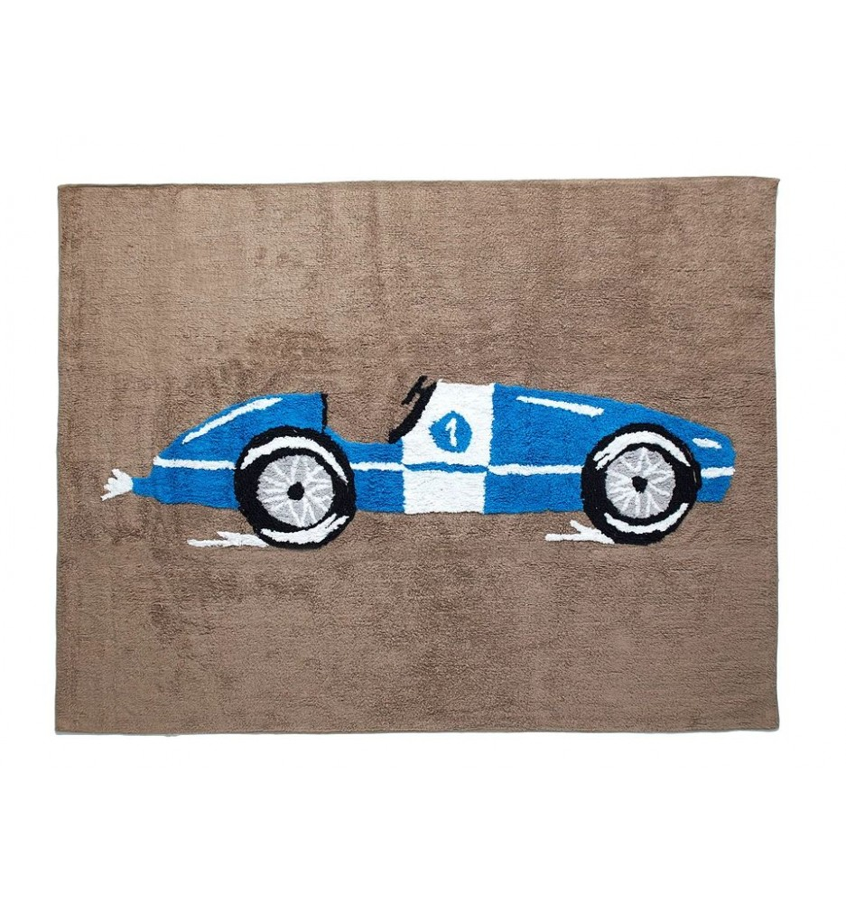 Coche Carreras (Racing Car) Rug