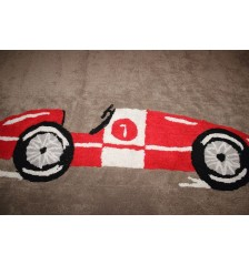 Coche Carreras (Racing Car) Rug