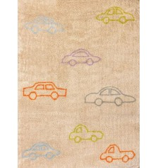 Coches (Cars) Rug