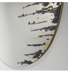Drip Gold Mirror