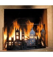 London 1666 Fire Screen