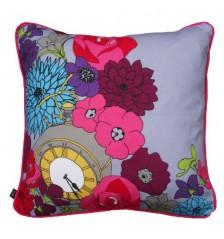 Floral Clock Cushion