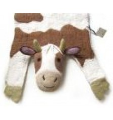 Buttercup the Cow Rug